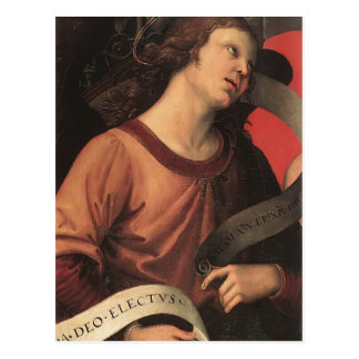 Raphael- Angel, from the polyptych of St. Nicolas Postcards