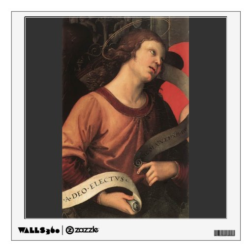 Raphael- Angel, from the polyptych of St. Nicolas Wall Graphic