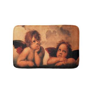 Raphael Angelic Cherub Art Bath Mat