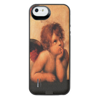 Raphael Angelic Cherub Art iPhone SE/5/5s Battery Case