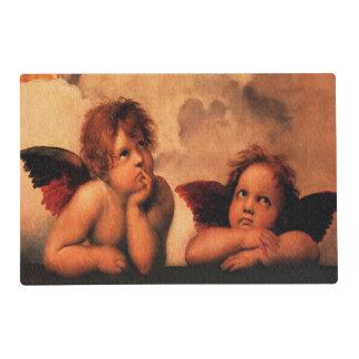 Raphael Angelic Cherub Art Placemat