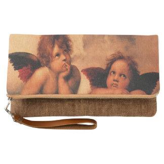 Raphael Angelic Cherubs Fine Art Gifts Clutch