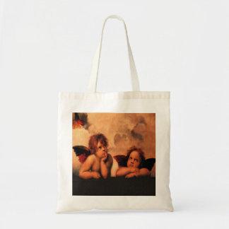 Raphael Angelic Cherubs Tote Bag