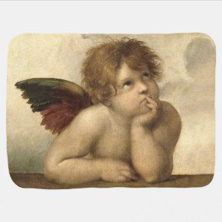 Raphael Angels 1 Receiving Blanket