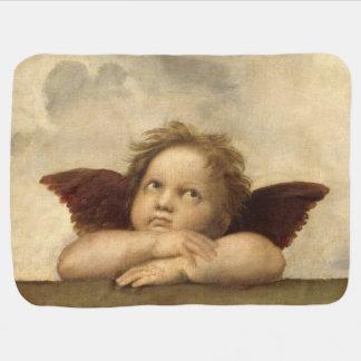 Raphael Angels 2 Baby Blanket
