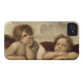Raphael Angels iPhone 4 Case-Mate Cases