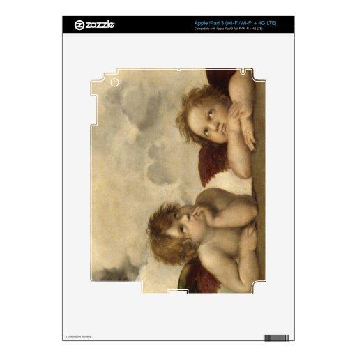 Raphael Angels iPad 3 Skin
