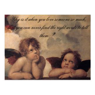 Raphael Angels Postcard
