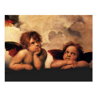 Raphael - Angels Postcard