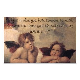 Raphael Angels Stationery