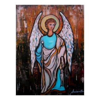 Raphael Archangel Posters