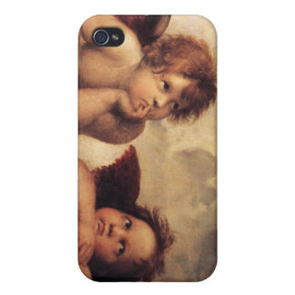 Raphael Art Work Painting Covers For iPhone 4