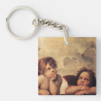 Raphael Art Work Painting Keychain