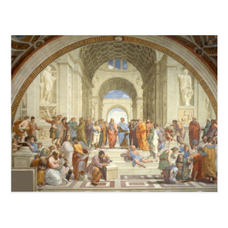 Raphael Art Work Painting Postcard