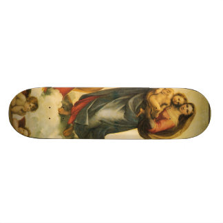 Raphael Art Work Painting Skateboard