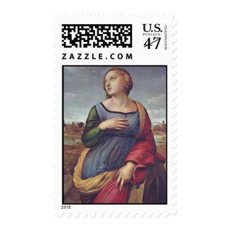 Raphael Art Work Painting Stamp
