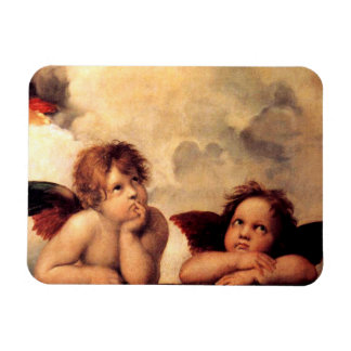 Raphael Cherubs Sistine Madonna Magnet