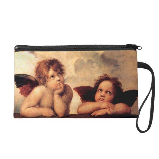 Raphael Cherubs Sistine Madonna Wristlet