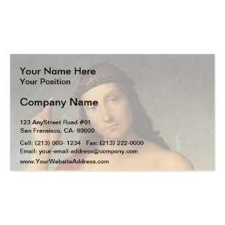 Raphael- Christ Blessing Double-Sided Standard Business Cards (Pack Of 100)