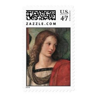 Raphael Christmas Angel Postage Stamps M Raffaello