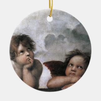 Raphael de los ángeles del navidad ornamentos de reyes
