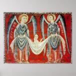 Raphael de St Gabriel y del St., c.1200 Posters