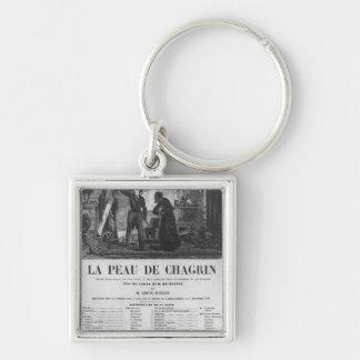 Raphael de Valentin and the shopkeeper Key Chains