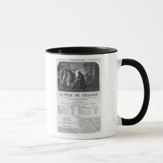 Raphael de Valentin and the shopkeeper Mug