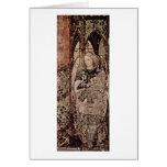 Raphael del arcángel de Antonio Di Puccio Pisano Tarjetas
