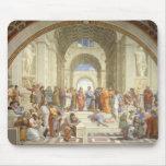 Raphael - Escuela de Atenas Alfombrilla De Ratones