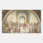 Raphael - Escuela de Atenas Etiqueta
