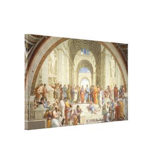 Raphael - Escuela de Atenas Impresiones En Lona