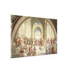 Raphael - Escuela de Atenas Lienzo Envuelto Para Galerías