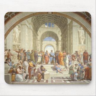Raphael - Escuela de Atenas Mouse Pads