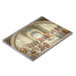 Raphael - Escuela de Atenas Spiral Notebook