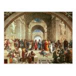 Raphael - Escuela de Atenas Tarjetas Postales
