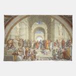 Raphael - Escuela de Atenas Toalla De Cocina