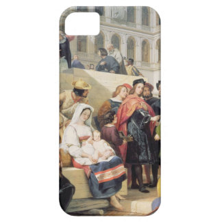 Raphael in the Vatican, 1832 (oil on canvas) iPhone SE/5/5s Case