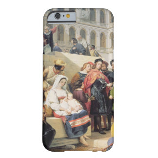 Raphael in the Vatican, 1832 (oil on canvas) iPhone 6 Case