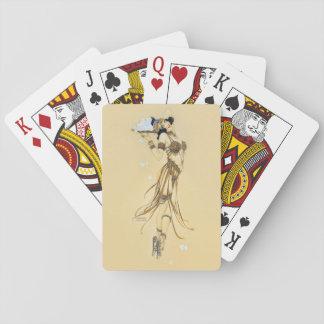 "Raphael Kirchner ""Expiation"" Pin-up Girl Vintage Poker Deck"