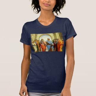 """Raphael """"la escuela detalle de Atenas"""" circa 1511 Playera"""