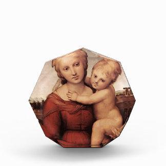 Raphael- Madonna and Child Acrylic Award