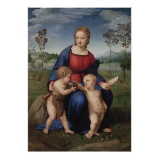 Raphael Madonna del renacimiento del Goldfinch Fotografía