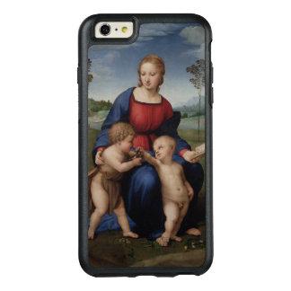 Raphael Madonna del renacimiento del Goldfinch Funda Otterbox Para iPhone 6/6s Plus