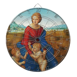 Raphael: Madonna in the Meadow Dartboards