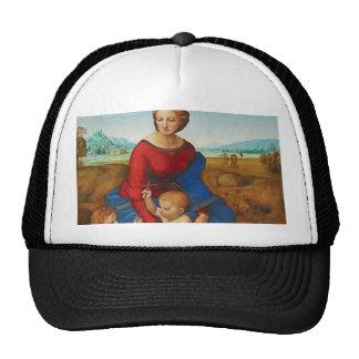 Raphael: Madonna in the Meadow Trucker Hat