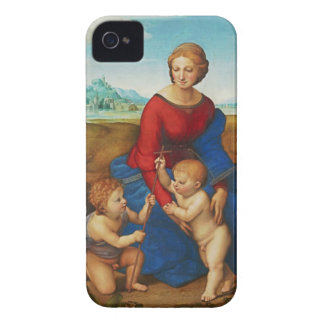 Raphael: Madonna in the Meadow iPhone 4 Cover