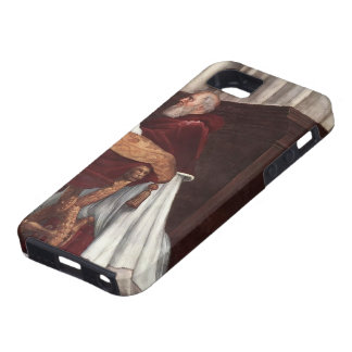 Raphael: Mass of Bolsena,from Stanza dell'Eliodor iPhone 5 Cover