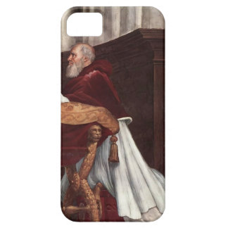 Raphael: Mass of Bolsena,from Stanza dell'Eliodor iPhone 5 Cases