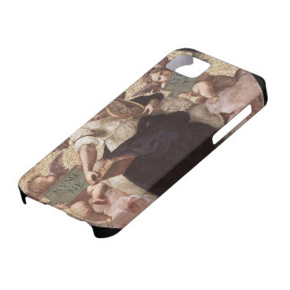 Raphael:Poetry, from the 'Stanza della Segnatura' iPhone 5 Cases